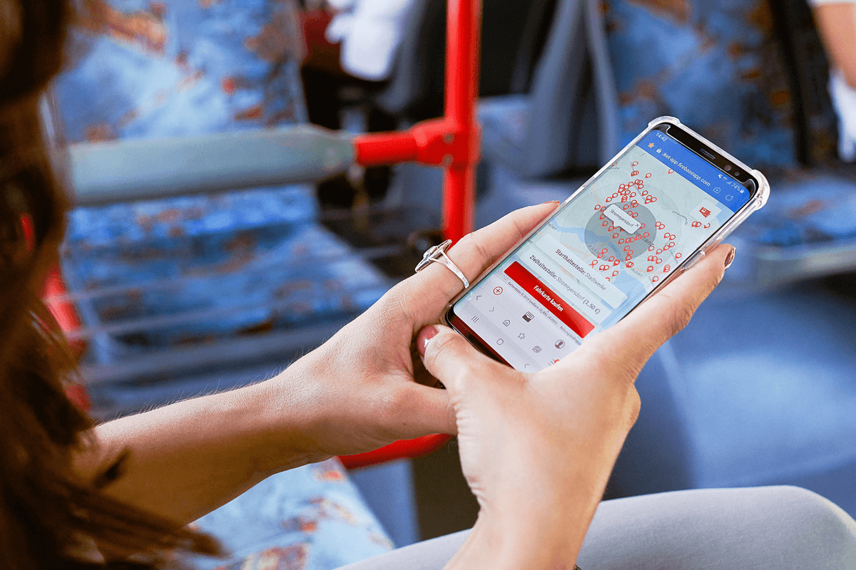 Bus mobile Ticket - App Entwicklung